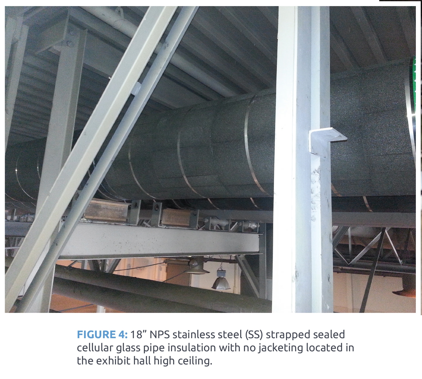 Case Study Remediating Chilled Water Pipe Insulation At A