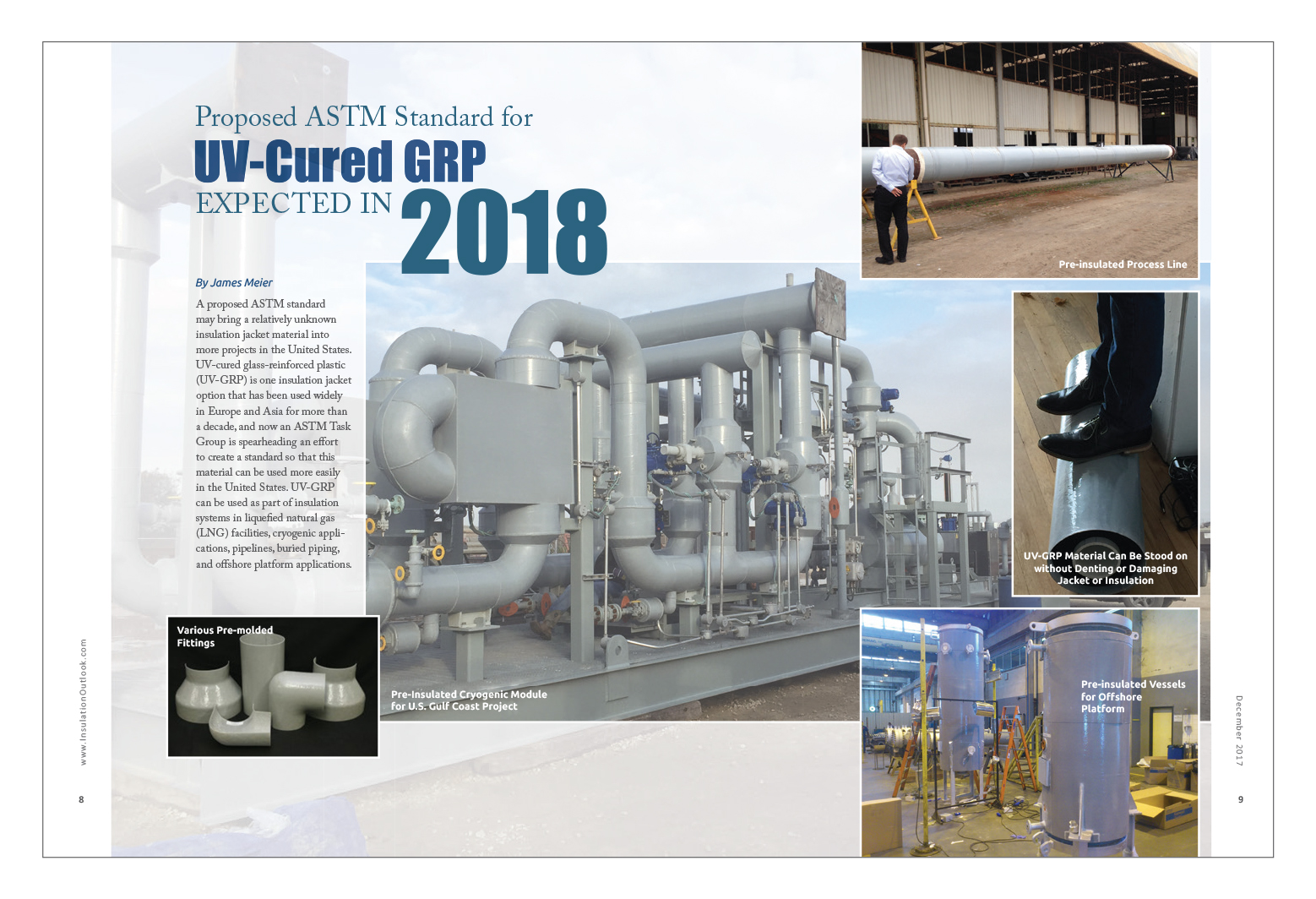 Proposed ASTM Standard for UV-Cured GRP Expected in 2018