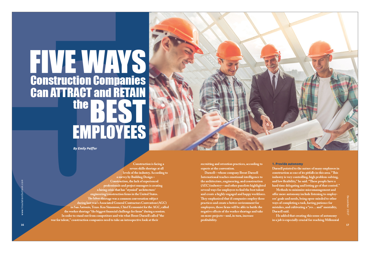 Five Ways Construction Companies Can Attract and Retain the
