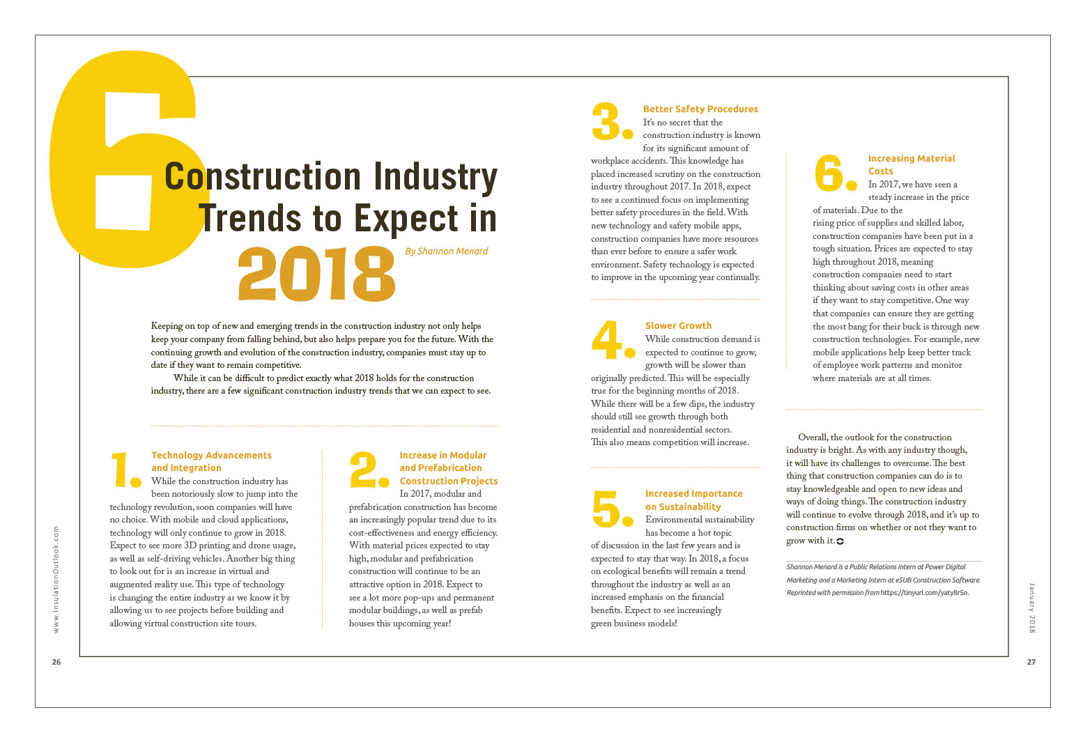 6 Construction Industry Trends to Expect in 2018