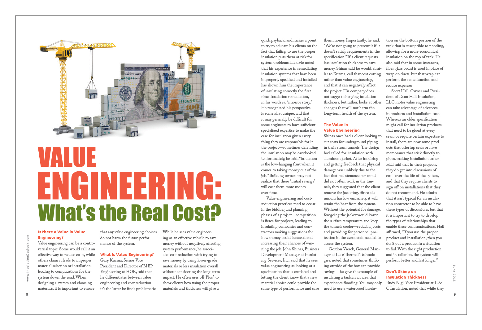 c8b93560d When designing a system and choosing materials, it is important to ensure  that any value engineering choices do not harm the future performance of  the ...