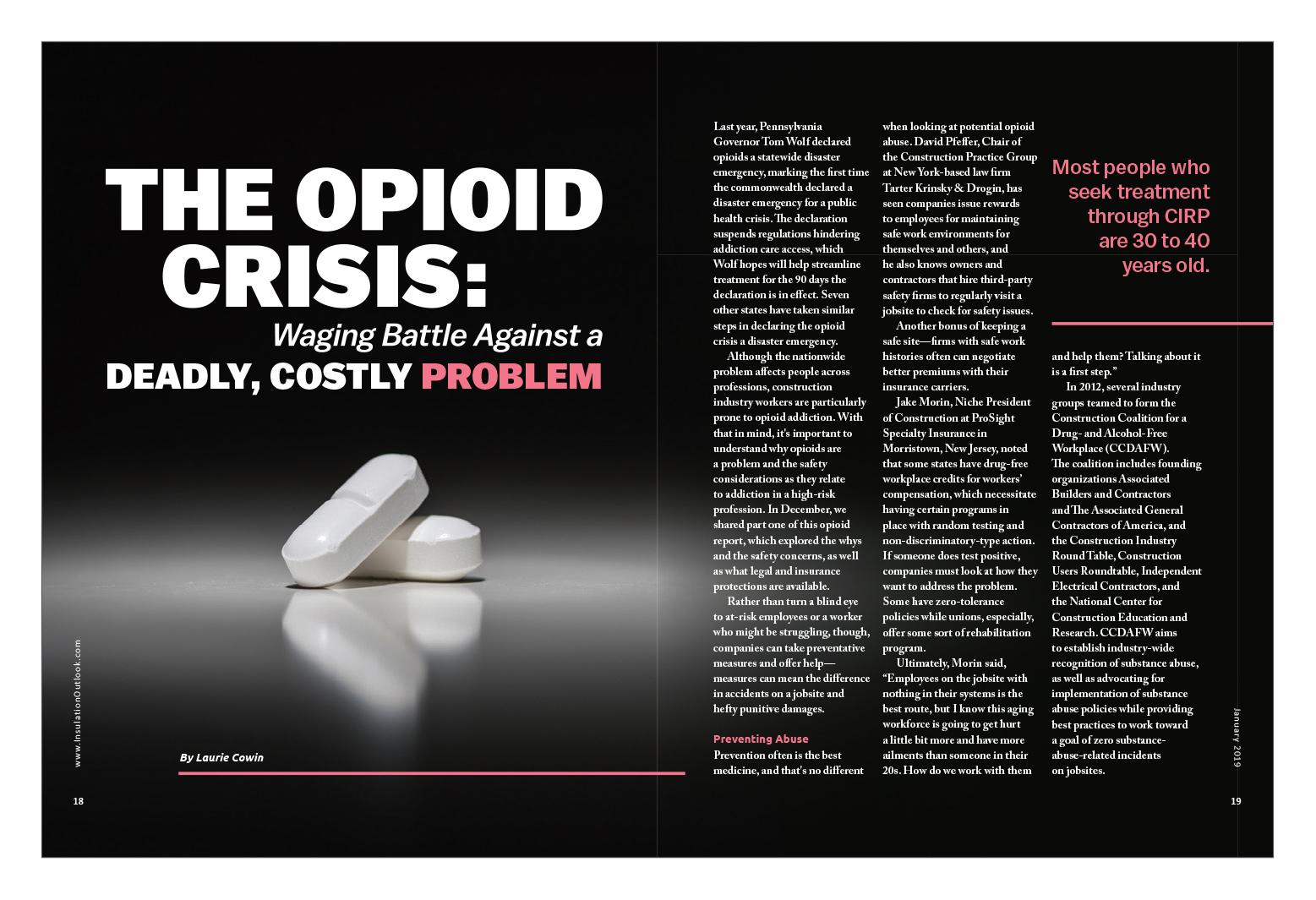 The War on Drug Abuse.