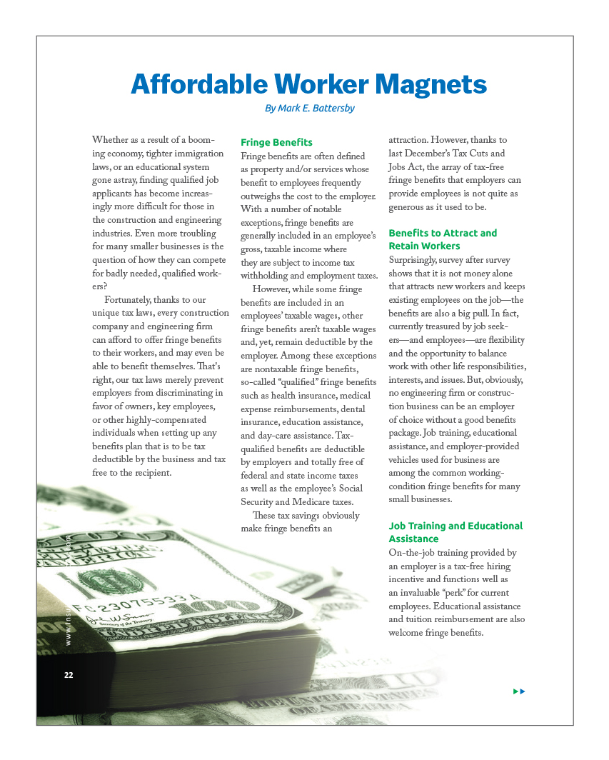 Affordable Worker Magnets - Insulation Outlook
