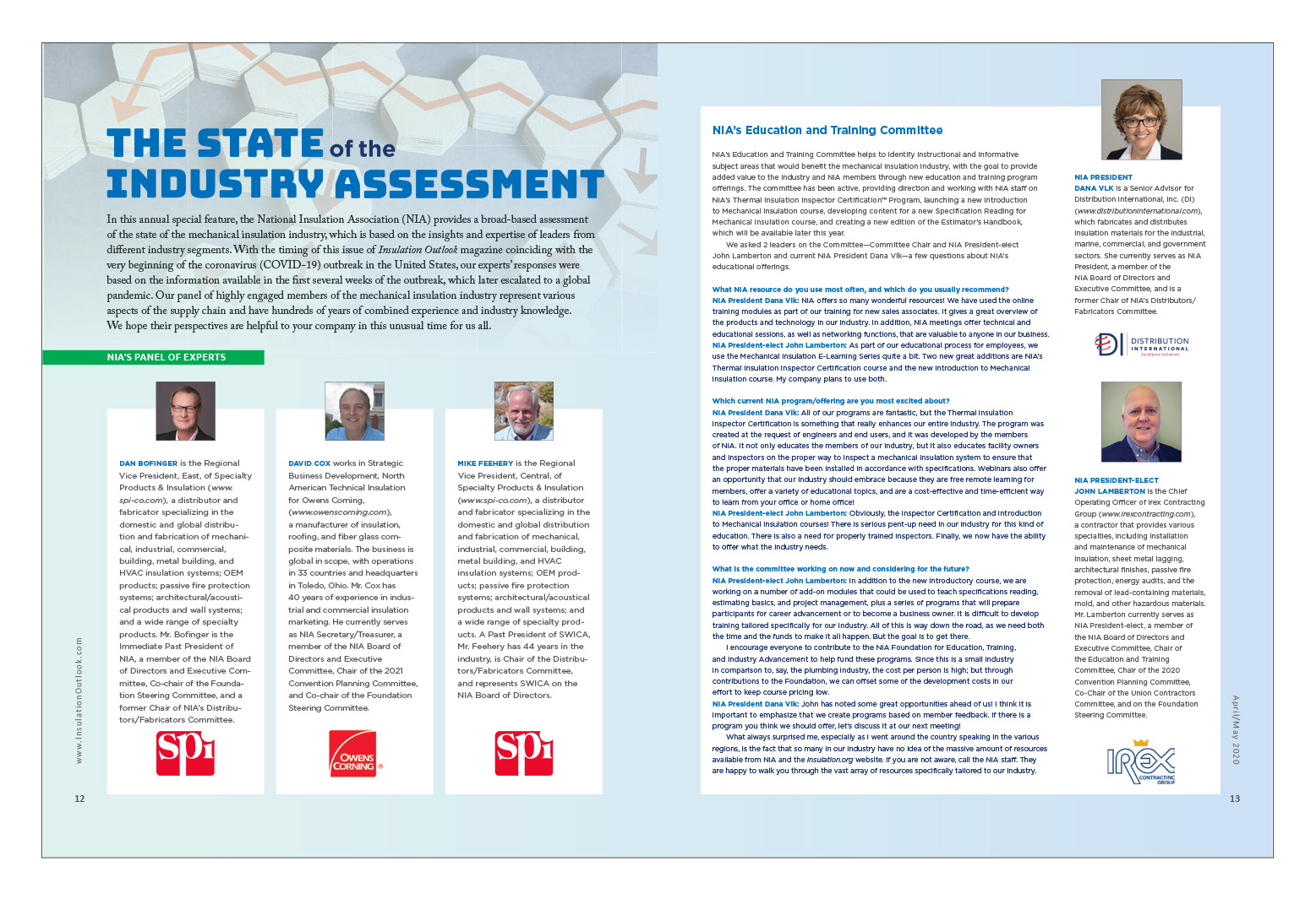 The State Of The Industry Assessment Insulation Outlook Magazine