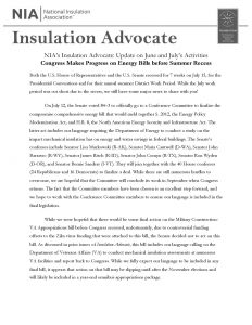 Advocacy & Outreach Landing Page Insulation Advocate image
