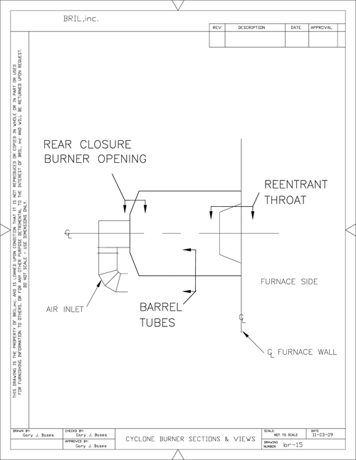 cyclone burner diagram cyclone boiler