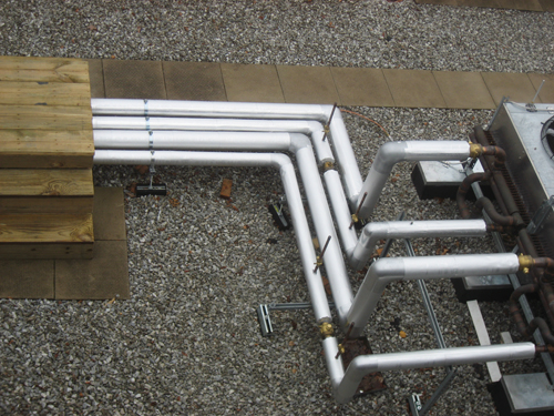 Factory Jacketed Pipe Insulation For Outdoor Applications Insulation Outlook